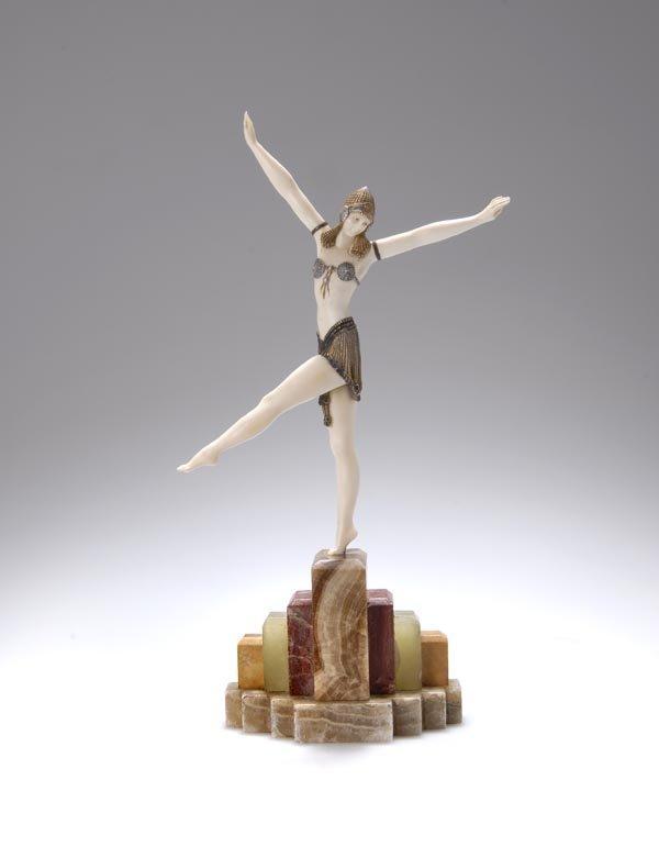 481: Demetre H. Chiparus, Tänzerin aus Palmyra, um 1920