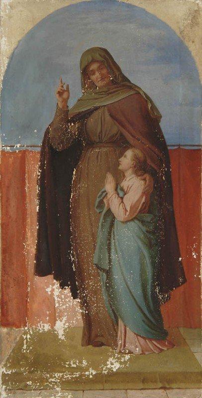 9: Karl Baumeister, Zwei Altarbilder, 1874/75