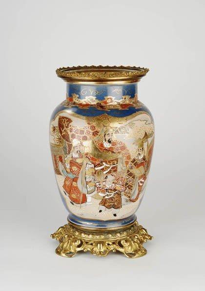 19: Japan, Satsuma-Vase, um 1890