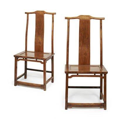 20: China, Zwei Stühle, 19./20. Jh.