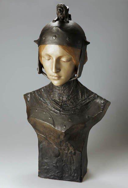 71A: Ezio Ceccarelli, Büste einer Frau mit Helm, um 190