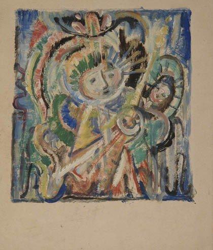 6: Fritz Berz, Mutter mit Kind, um 1930