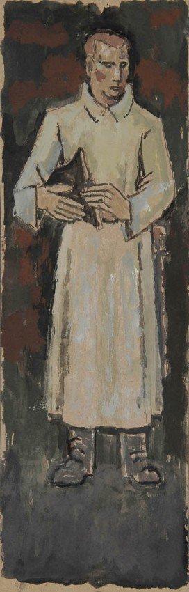 9: Fritz Berz, Entwürfe für ein Kriegerdenkmal, um 1946