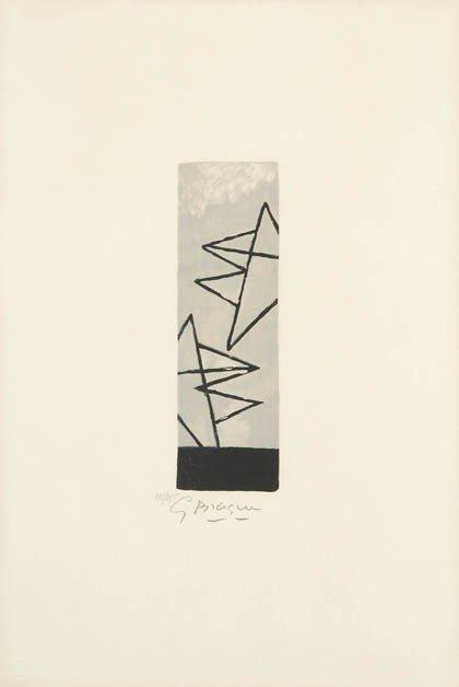 11: Georges Braque, 'Ciel gris I'