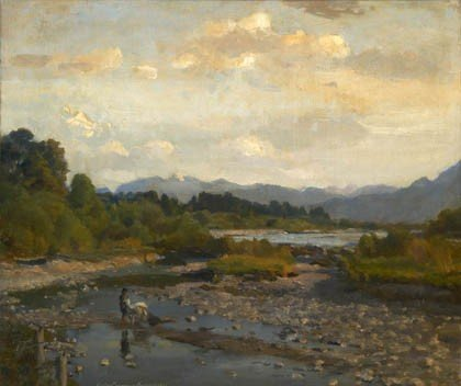 14: Gustav Johannes Buchner, Isartal, 1941