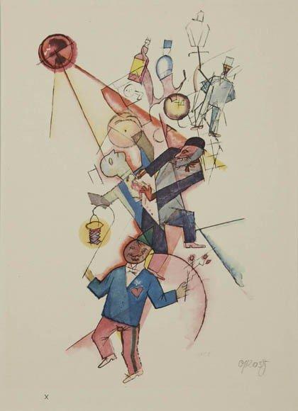 22: George Grosz, Johannis night, 1918