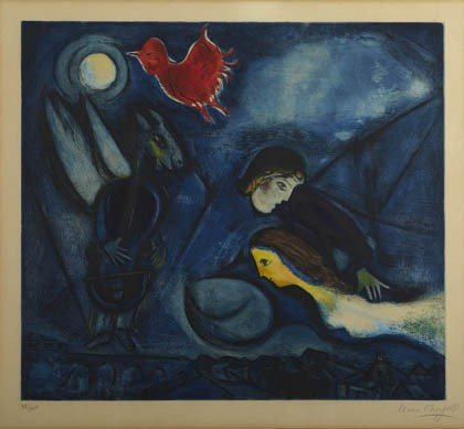 165: Marc Chagall, 'Aleko', 1955