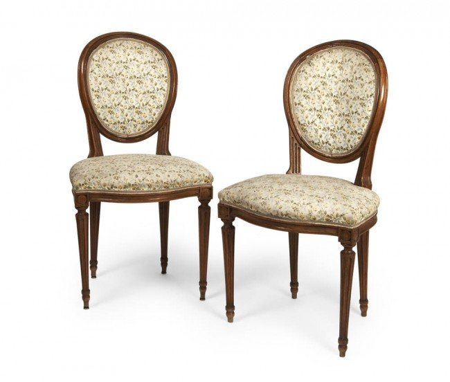 2: France, Two chairs, ca. 1800