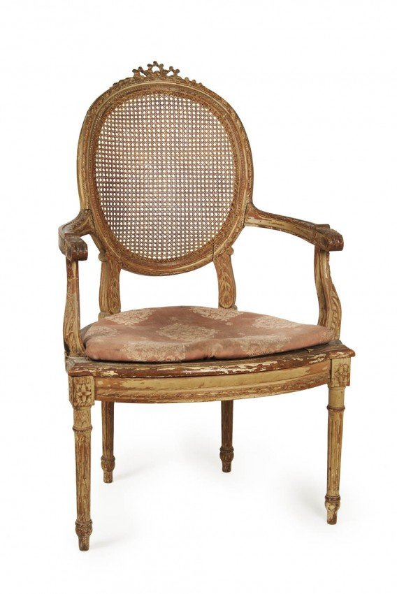 3: , Arm chair, second half of the 19th century
