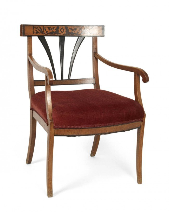 4: Southern Germany, Arm chair, ca. 1900