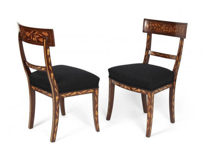 5: Italy, Pair of chairs, first half of 19th century
