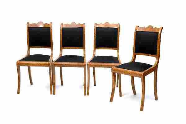 Norddeutschland, Vier Stühle, 1. Hälfte 19. Jh.