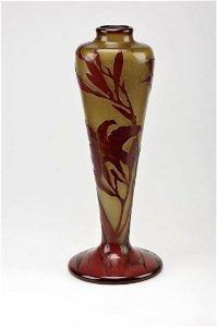 458: Emile Gallé, Nancy, Vase, um 1903