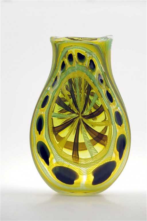 1138 Vetreria Artigianale Deste Murano Vase 2009
