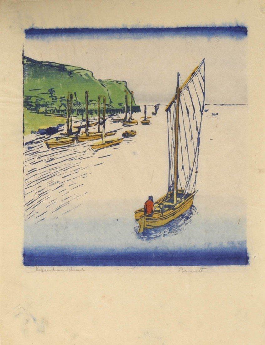 1: Siegfried Berndt, 'Auf der Rhede I, 1911