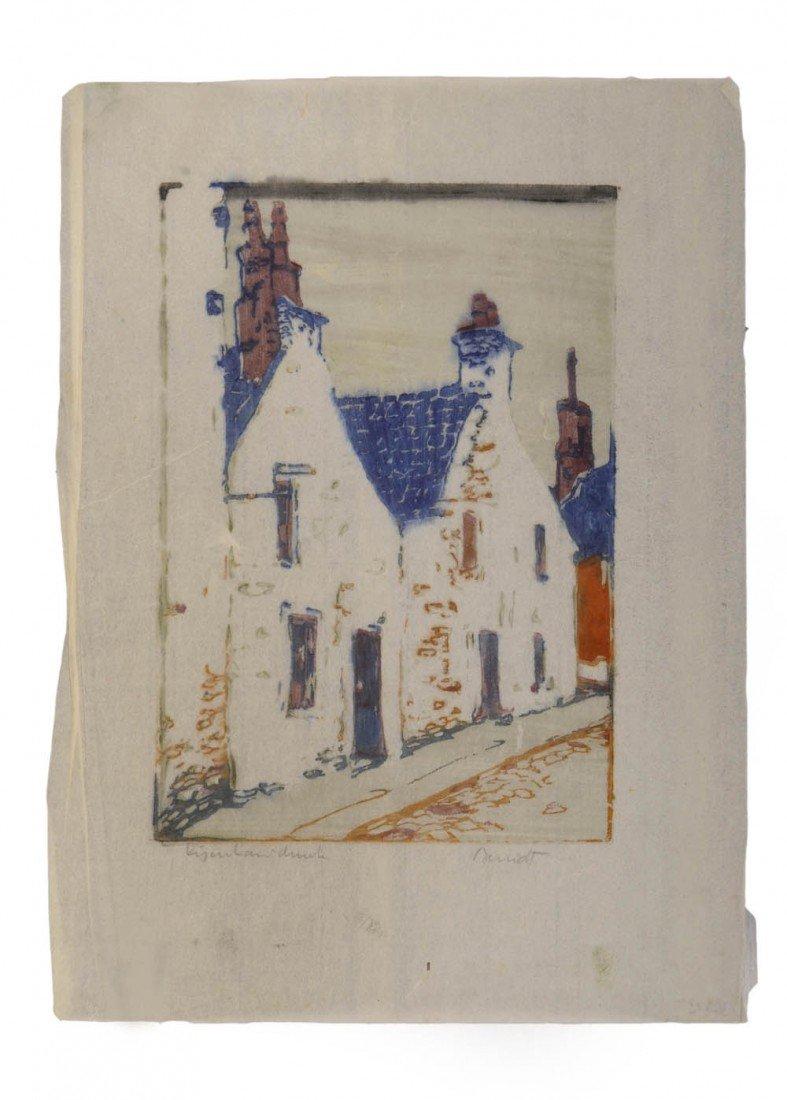 2: Siegfried Berndt, Dorfstrasse, um 1910