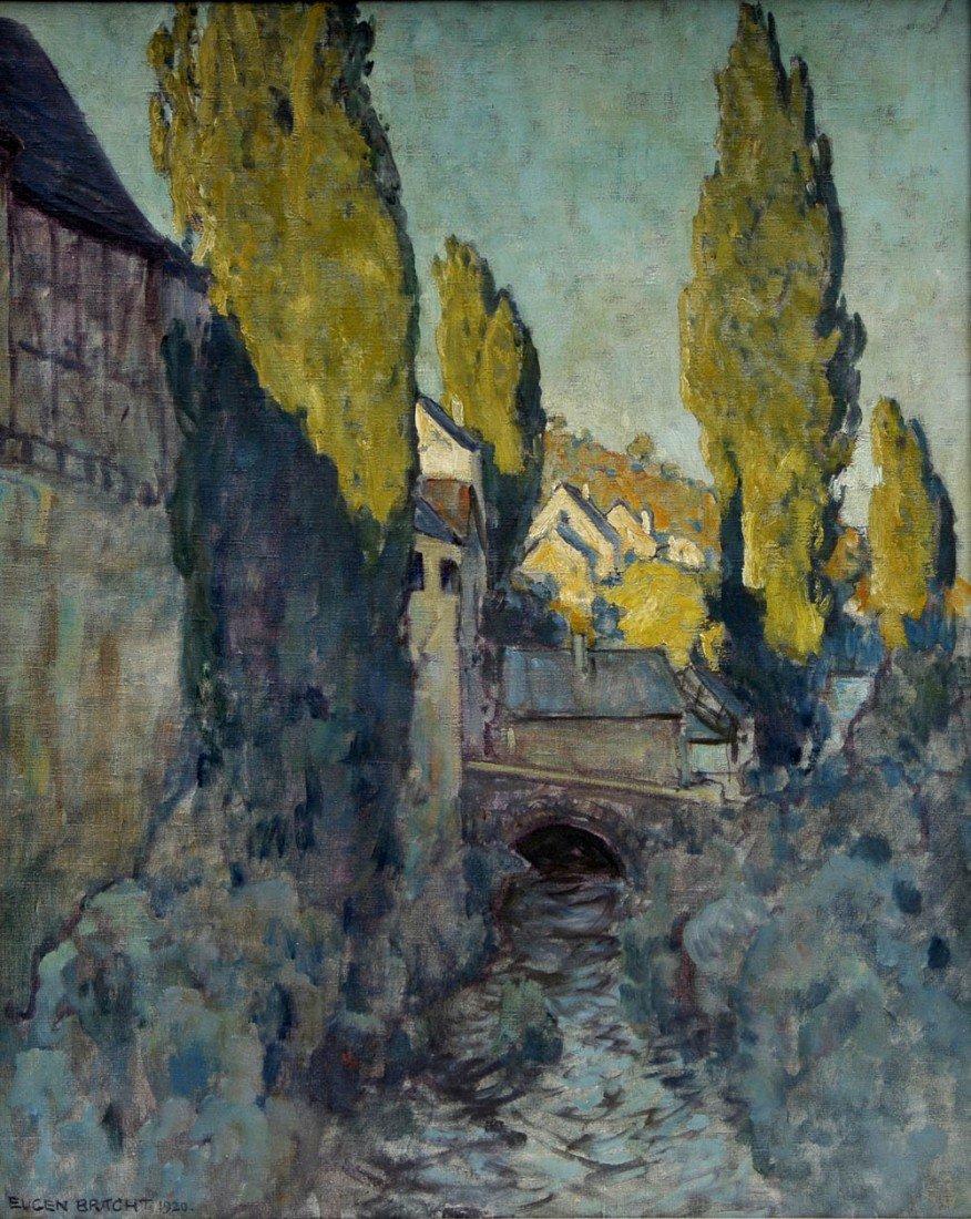 4: Eugen Bracht, 'Der Mühlgraben', 1920