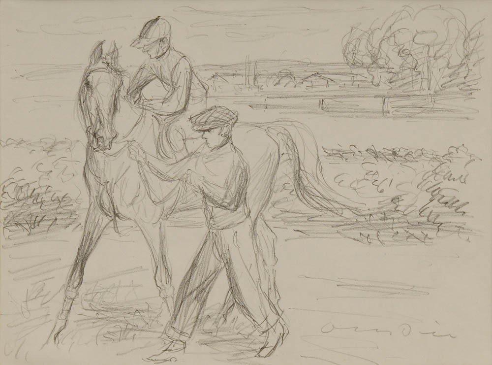 12: Otto Dill, Jockey, um 1930