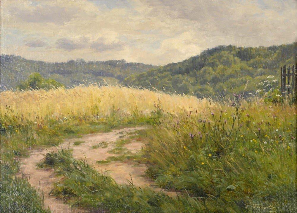 20: Hanny (Johannes Emil) Franke, Landschaft im Taunus,