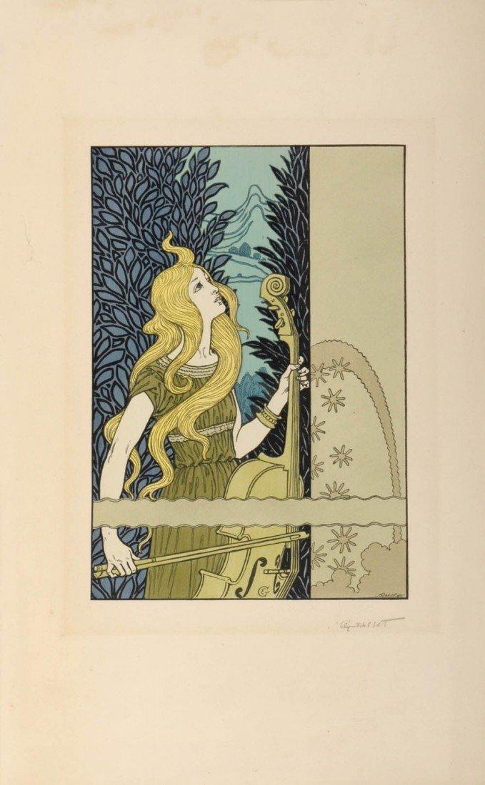 21: Eugène Grasset, La musique, um 1908