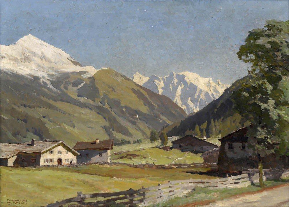 23: Edward Harrison Compton, 'Bei Bichlbach', um 1900