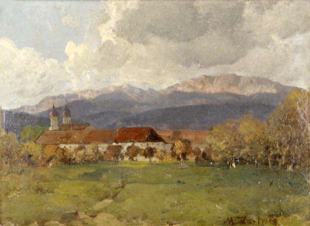 24: Max Hartwig, Kloster Benediktbeuern, um 1900