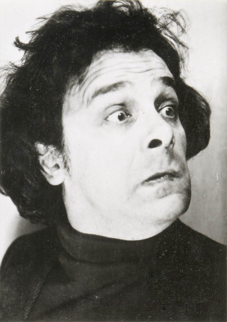272: Arnulf Rainer, 'Selbstdarstellung', 1972