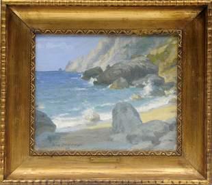 Hans Christiansen, 'Studie von Capri', 1906