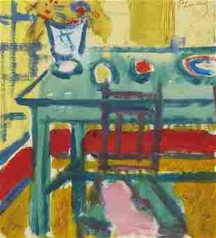 Roger Marcel Limouse, 'La table verte', um 1930