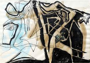 Theodor Werner, 'Komposition Z 30/1951', 1951