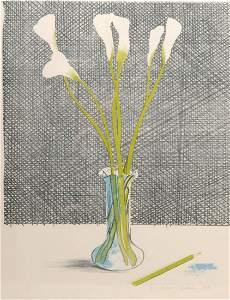22: David Hockney, 'Lillies' (Still Life), 1971