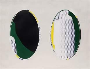 Roy Lichtenstein, 'Mirror # 8', 1972