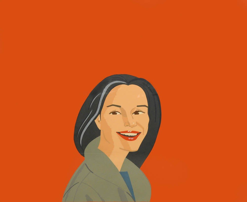 49: Alex Katz, 'Big Red Smile', 1995