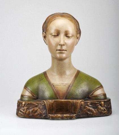 9: Deutschland, Weibliche Büste, um 1880