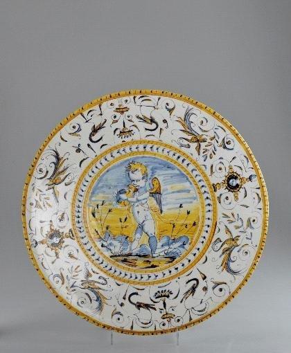13: Italien, Fußschale, um 1880