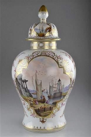 Sächsische Porzellanfabrik zu Potschappel, Carl Thi