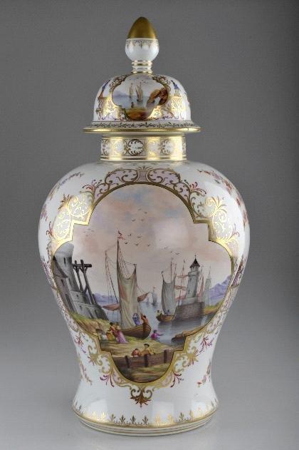 20: Sächsische Porzellanfabrik zu Potschappel, Carl Thi