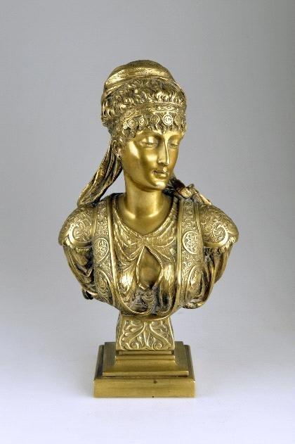 192: Huzel, Büste einer Orientalin, um 1910