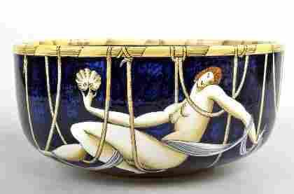 283A: Gio Ponti, Schale 'Le mie donne - Donatella', 192