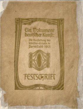1: Peter Behrens, Festschrift 'Ein Dokument deutscher K