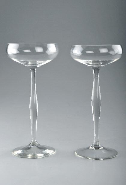 10: Peter Behrens, Zwei Champagnerschalen, 1899