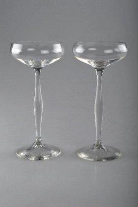 11: Peter Behrens, Zwei Champagnerschalen, 1899