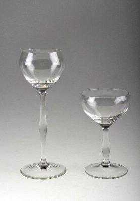 12: Peter Behrens, Römer und Rotweinglas, 1898