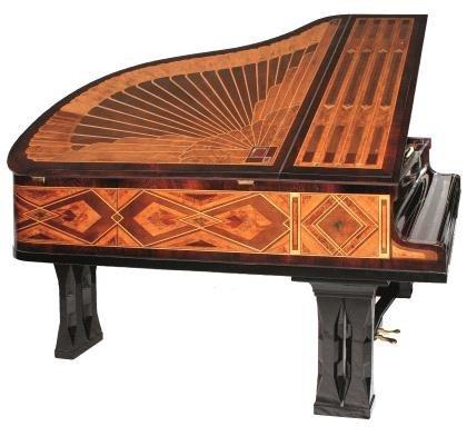 17: Peter Behrens, Grand piano, ca. 1900