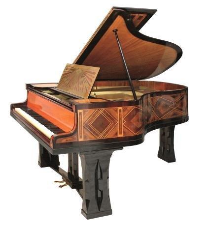17: Peter Behrens, Grand piano, ca. 1900 - 2