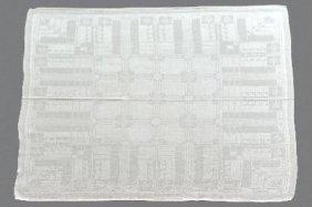 19: Peter Behrens, Zwei Servietten, vor 1905