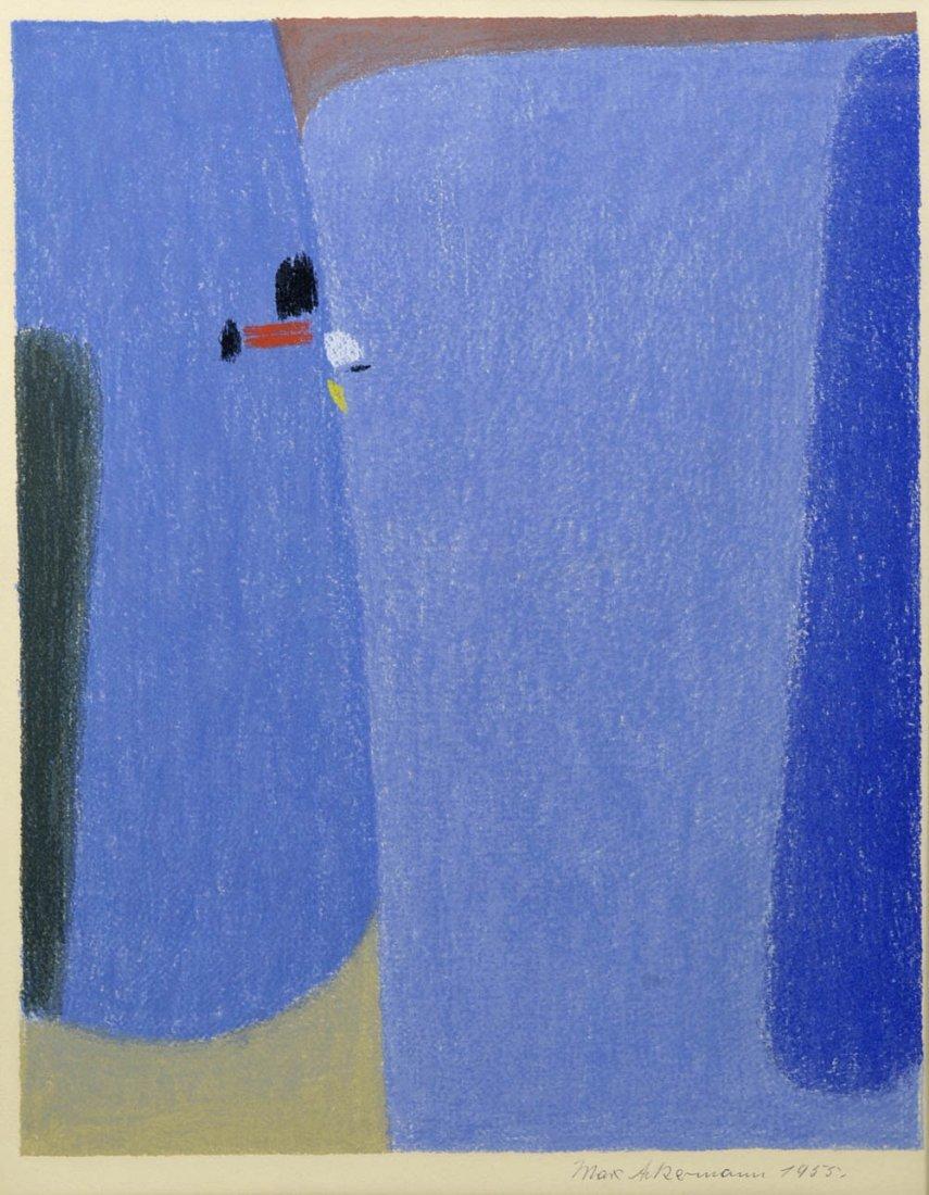 1: Max Ackermann, 'Überbrückte Kontinente II', 1955