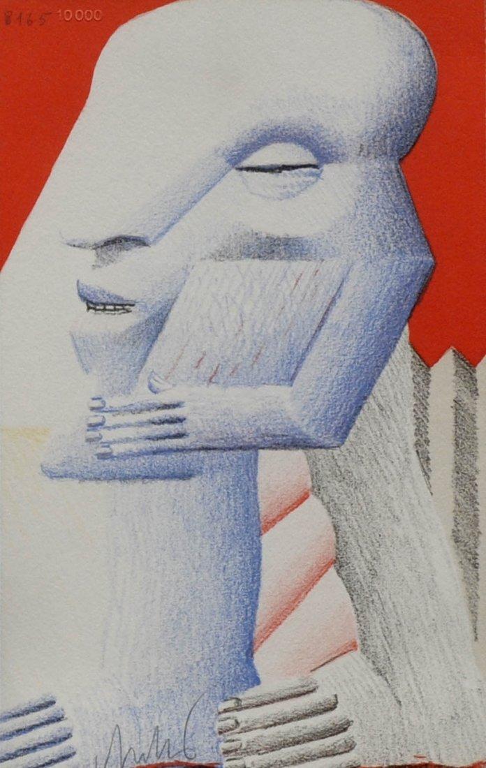 2: Horst Antes, Ohne Titel, um 1970