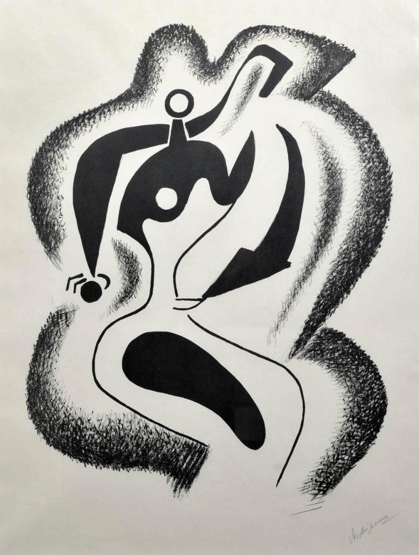 4: Alexander Archipenko, 'Le Sculpteur', 1962-63