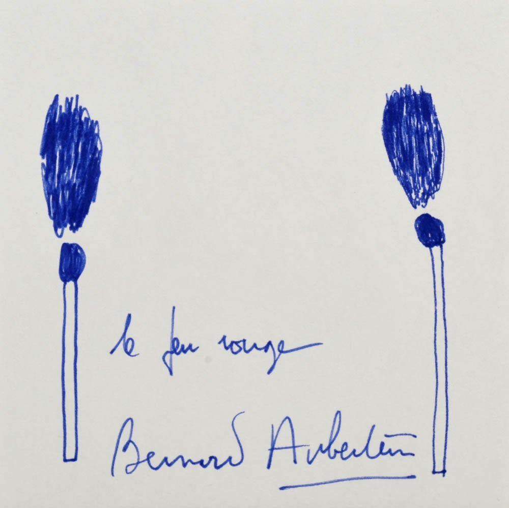 6: Bernard Aubertin, 'Le feu Rouge', Mitte 90er Jahre